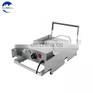 CE Certificated Electric Hamburger Toastor/Bun Toaster Hamburger Machine