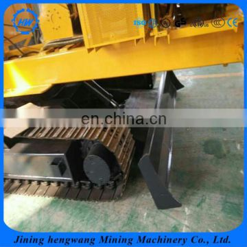 Portable Ground Screw hole drilling machines electric power pile driver