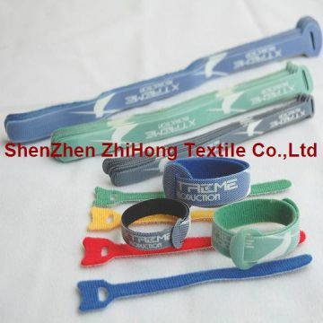 Fastener Adjustable Arm Self Adhesive Reusable Industrial Hook And Loop Fastener