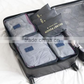 6PCS/Set High quality Mesh Bag Travel Bags Women
