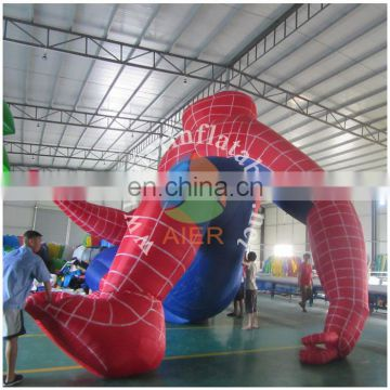 2016 Giant Advertising Inflatable Spiderman,Inflatable Flying Spiderman Replica