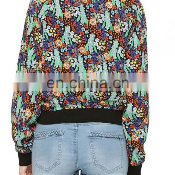 Beautiful printed bomber Jacket for women
