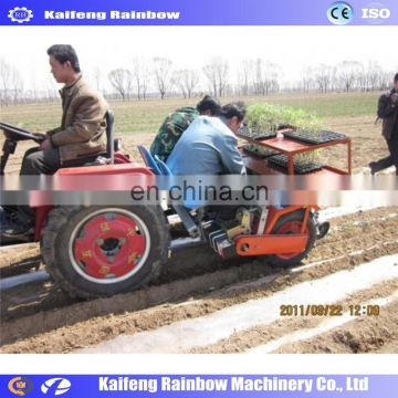 Lowest Price Big Discount Farm onion seedlings transplanting machine and vegetable seedling transplanter