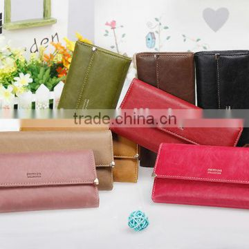 Vintage leather women wallet