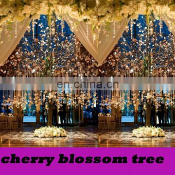 2015 newest wedding centerpiece red cherry blossom tree indoor artificial cherry blossom tree wish tree