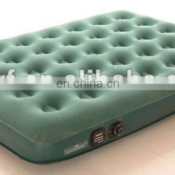 Hot selling Inflatable Flocked Air Mattress Travel Bed