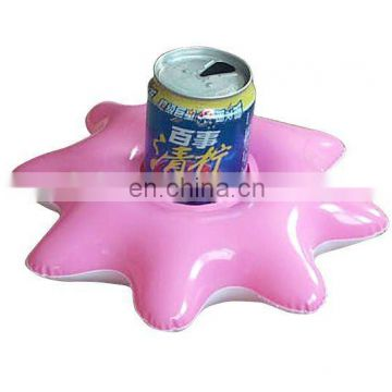 Inflatable Single Pink Beer Holder