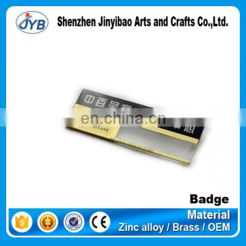 cheap price sale name tags with safety pin
