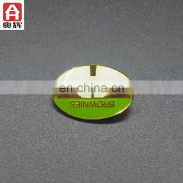 Zhongshan iron souvenir badge hungry free pogo tokens