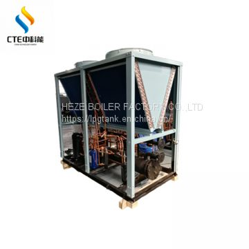 65kw scroll compressor air cooled chiller for bath center