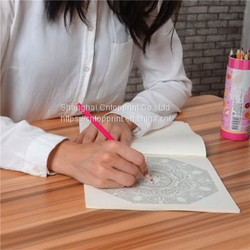 Gaint coloring books printing for adults and groups activities