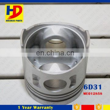 6D31 Alfin Piston With Pin Cylinder Liner Kit ME012858 ME012145