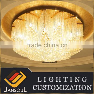 New design flower shaped led crystal ceiling lighting                                                                                                         Supplier's Choice