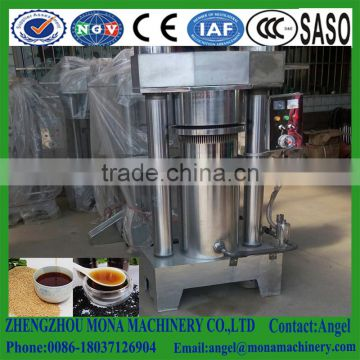 Hydraulic sesame oil press/extraction/Hydraulic sesame oil press machine ,hydraulic oil extraction machine|sesame oil presser