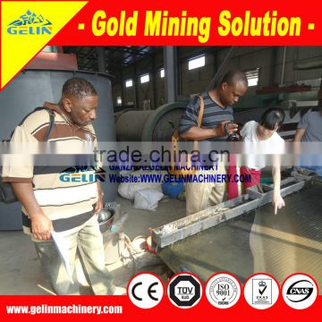 Complete line for zircon ore