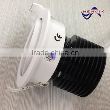 Most popular 10w adjustable led downlight, 3000k dimmable downlight led