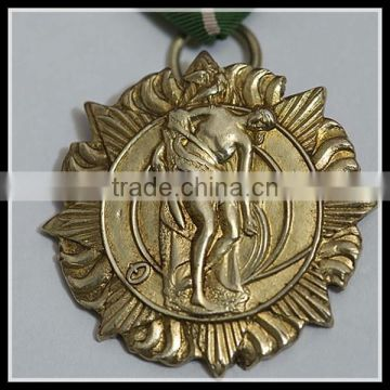 Custom zinc alloy medal of honor convention award medals manufacturer