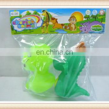 Hot sale kids small rubber animal toys