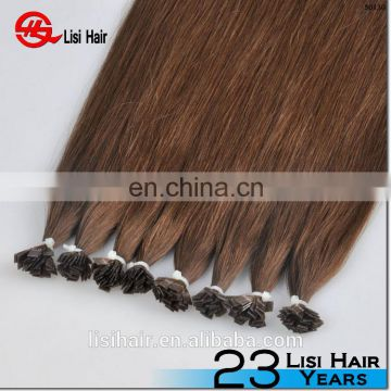 YBY Double Drawn Remy Brazilian Human Hair Extension, Keratin Flat Tip Hair