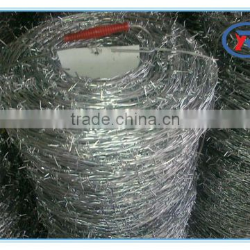 16gauge galvanized barbed wire fencing made in China