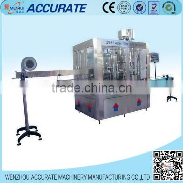 Wenzhou Accurate Machinery made water bottling machine in supermarket