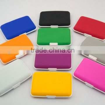 Eco-friendly Silicone Credit Card Holder with Various Colors