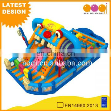 China factory price backyard radio playground inflatable toys for kid fun park