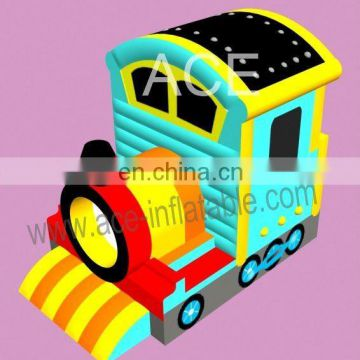 circus train theme commercial inflatable bouncer
