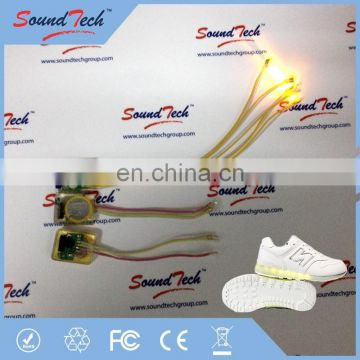 led vibration sensor lights for shoes
