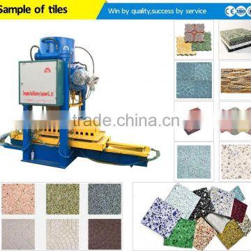 Free Installation Automatic Press Terrazzo Cement Floor Tile