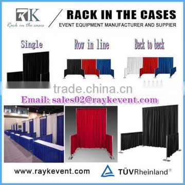 Diy Exhibition Booth Pipe Drape Backrop Rental Of Pipe And