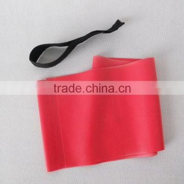 Custom logo printing latex yoga stretch resistance bands Exercise bands with door anchor