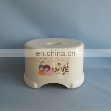 2014 oval colorful plastic kids stool