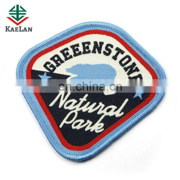 Customized wholesale woven badge for garment