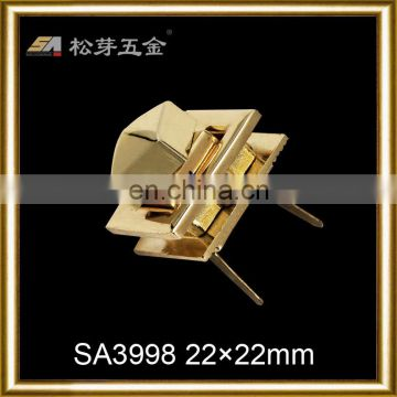 Saving high quality gold plated closures for bags
