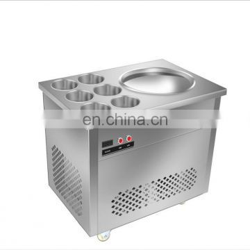 Hot Sale Good Quality fried ice cream maker machine round pan ice cream frying machine