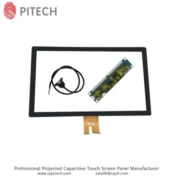 Custom Made Capacitive Multi Touch Screen 17.3 Inches Touch Glass