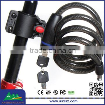 High Safety Quality Bicycle Wire Lock For Student