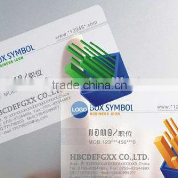 waterproof matt finish plastic transparent business cardsvisiting cards name cards quality choice - Waterproof Business Cards