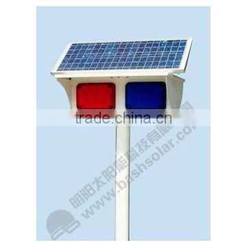led traffic light with red and blue lamp or other color avilable