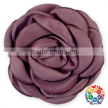 Red Poppy Rose Flowers Satin flowers for hair bands Decorative Flowers