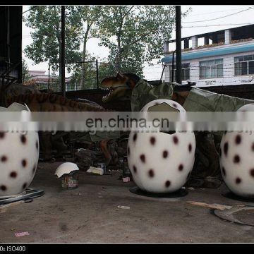 2016 amusement park realistic handmade electric dinosaur eggs