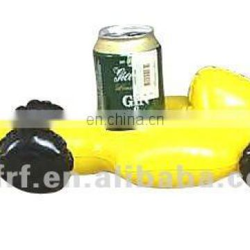 Inflatable Racing Automobile Design Cup Holder
