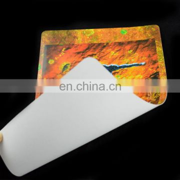 Fashional custom printed pvc desk mat