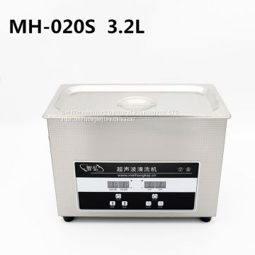 Ultrasonic Cleaning Machine 3.2L Electronic Components Glasses Lab Hardware Small Parts PCB Board Ultrasound Bath Washer