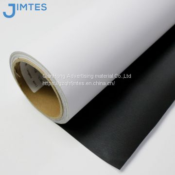 Printing blackout canvas fabric roll for printing advertising backlit banner and painting photos from china supplier