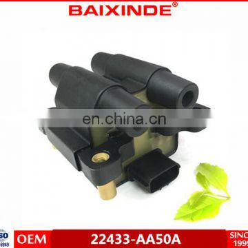 Ignition Coil For Subarus Legacy Outback Forester Impreza 22433-AA500 22433AA500