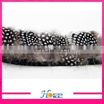 new arrival decorative colorful fabric trimming feathers for costume