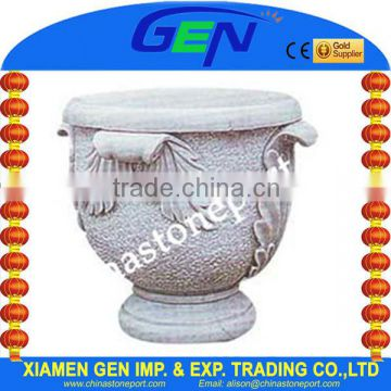 Natural Stone Flower Pot For Sale