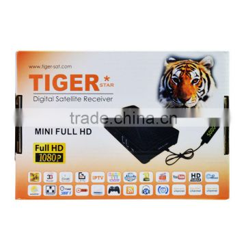 Twin Tuner Ecos Satellite Decoder Tiger Star T800+ MINI Ali Solution